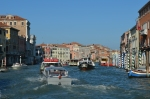 Traffic on the Grand Canal