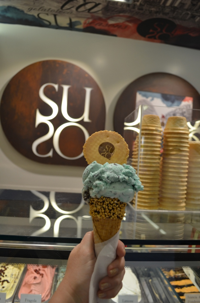 My Mint Lovers Combo at SUSO Gelato