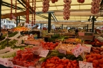 Famous outdoor fruit/veg/fish market near Rialto