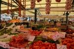 Famous outdoor fruit/veg/fish market near Rialto