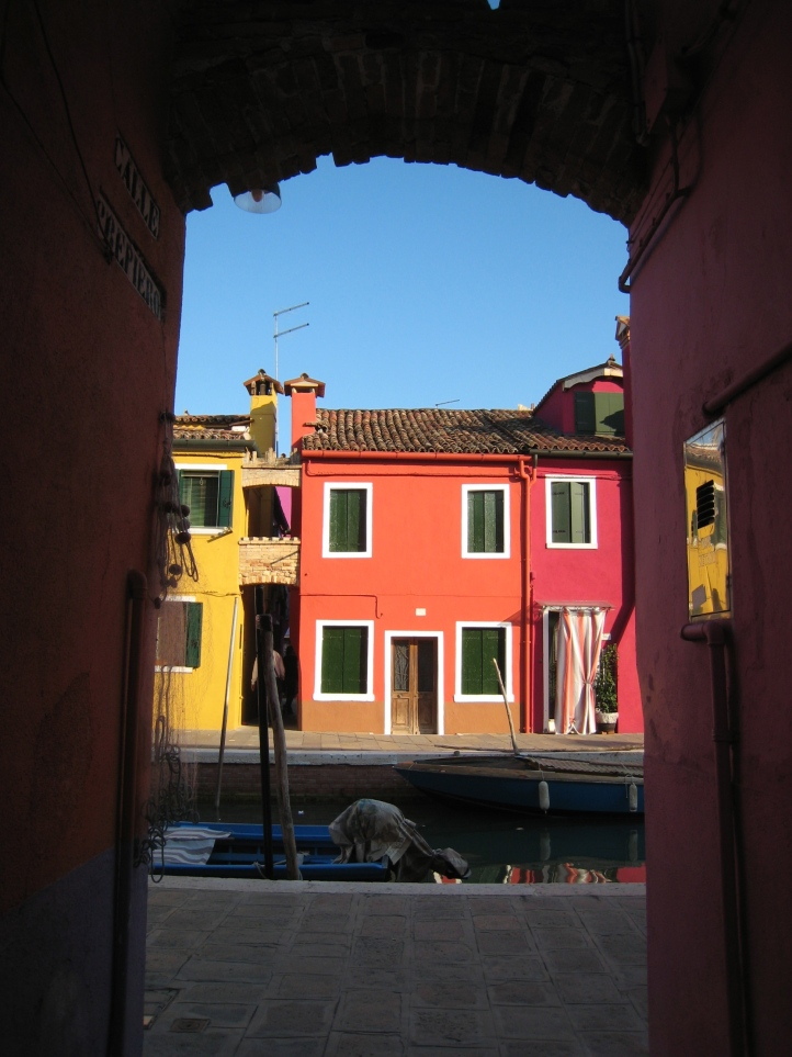 A colorful peek at Burano
