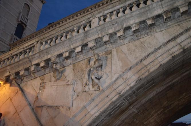 Rialto Bridge Detail