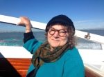 Mama arriving in Venice