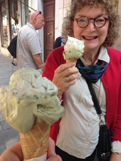 Mama loves Mela Verde gelato