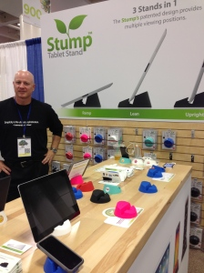 Stump Stand at MacWorld