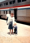 Nosy Parker family loves Amtrak!