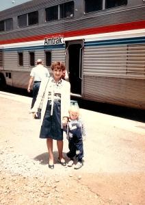 Nosy Parker family loves Amtrak!