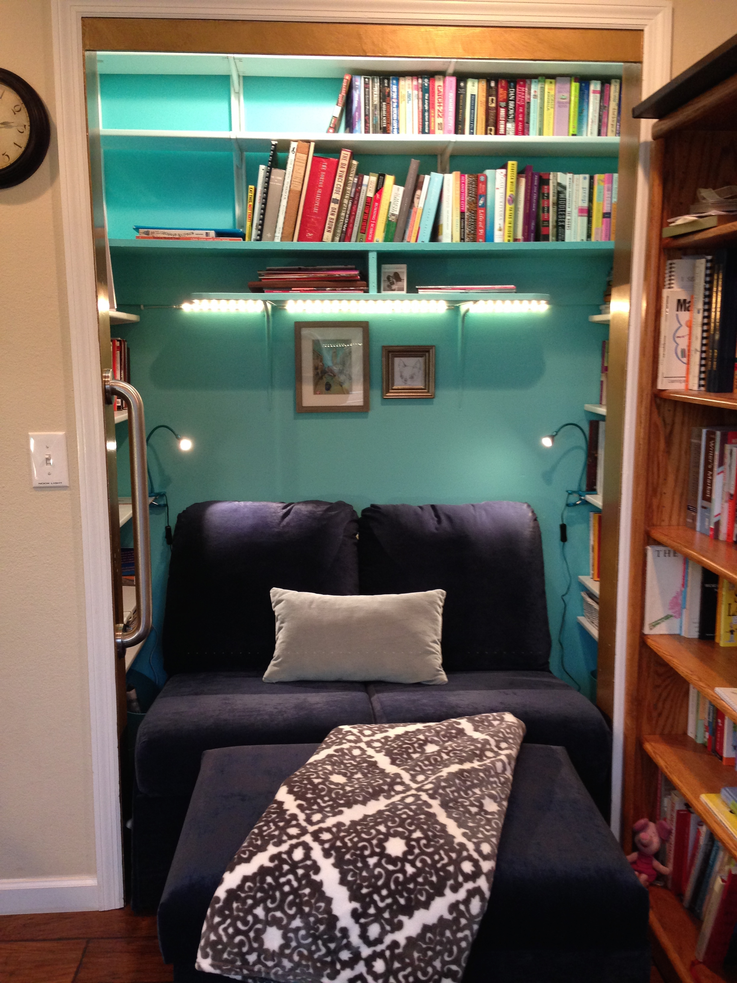 Exceptional Reading Nook Closet