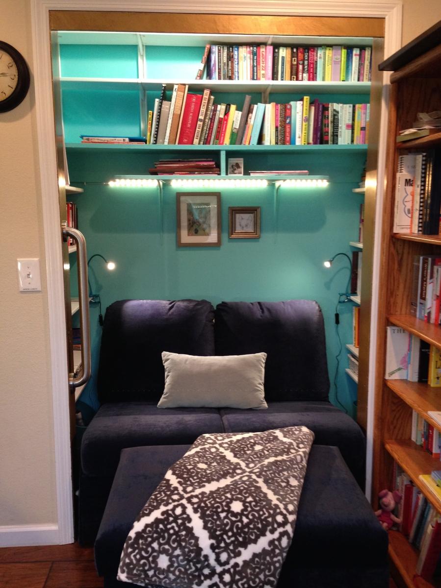 Reading Nook Closet Nosy Parker Blog