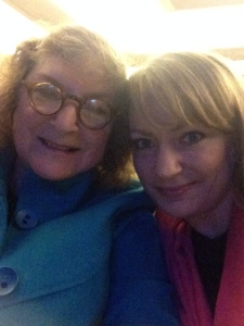 A more recent photo of Mama and me