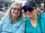 Mama and me in Healdsburg