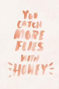 catching flies