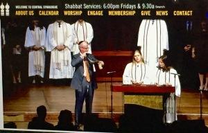 shofar blowing - Central Synagogue NYC