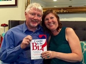 My new B12 buddy Laura and her husband, Steven