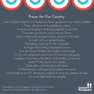 Prayer for Our Country - Central Synagogue