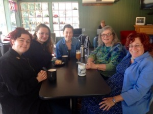 Reunion with Mia, Genna and Linda