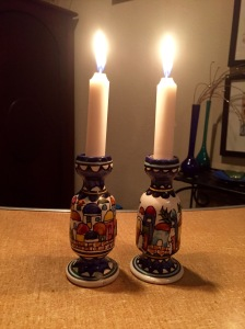 Shabbat candles 12/23