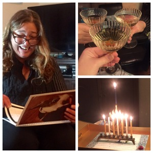 7th night Chanukah with Lisa