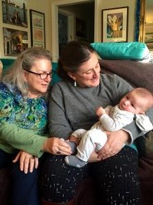 Mama, Jen and Eli