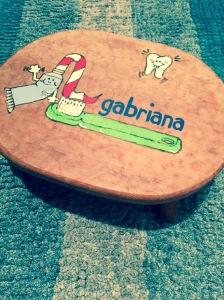 Gabriana stool
