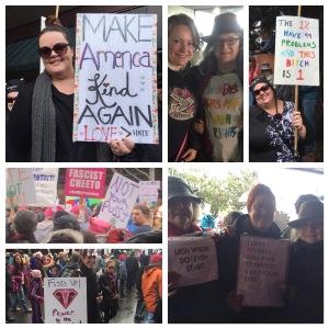 Women's March in Santa Rosa, Calif.