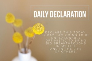 Daily Declaration
