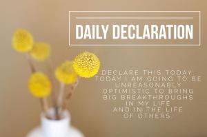 Daily Declaration