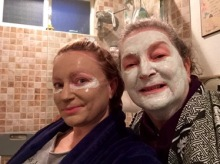 Mama and me face masks